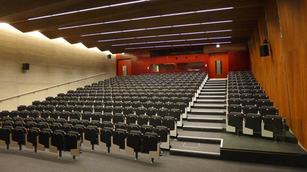 An Academic S View Of The New Main Lecture Theatre In David