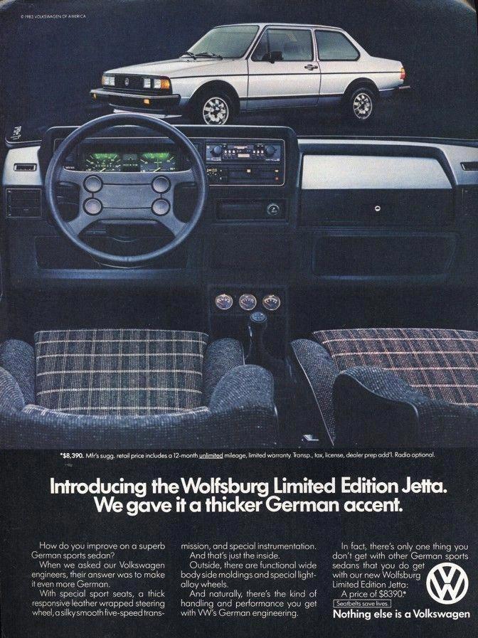 1983 Volkswagen Jetta volkswagonclassiccars