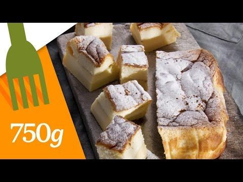 Recette facile gâteau magique à la vanille (magic cake recipe) - YouTube