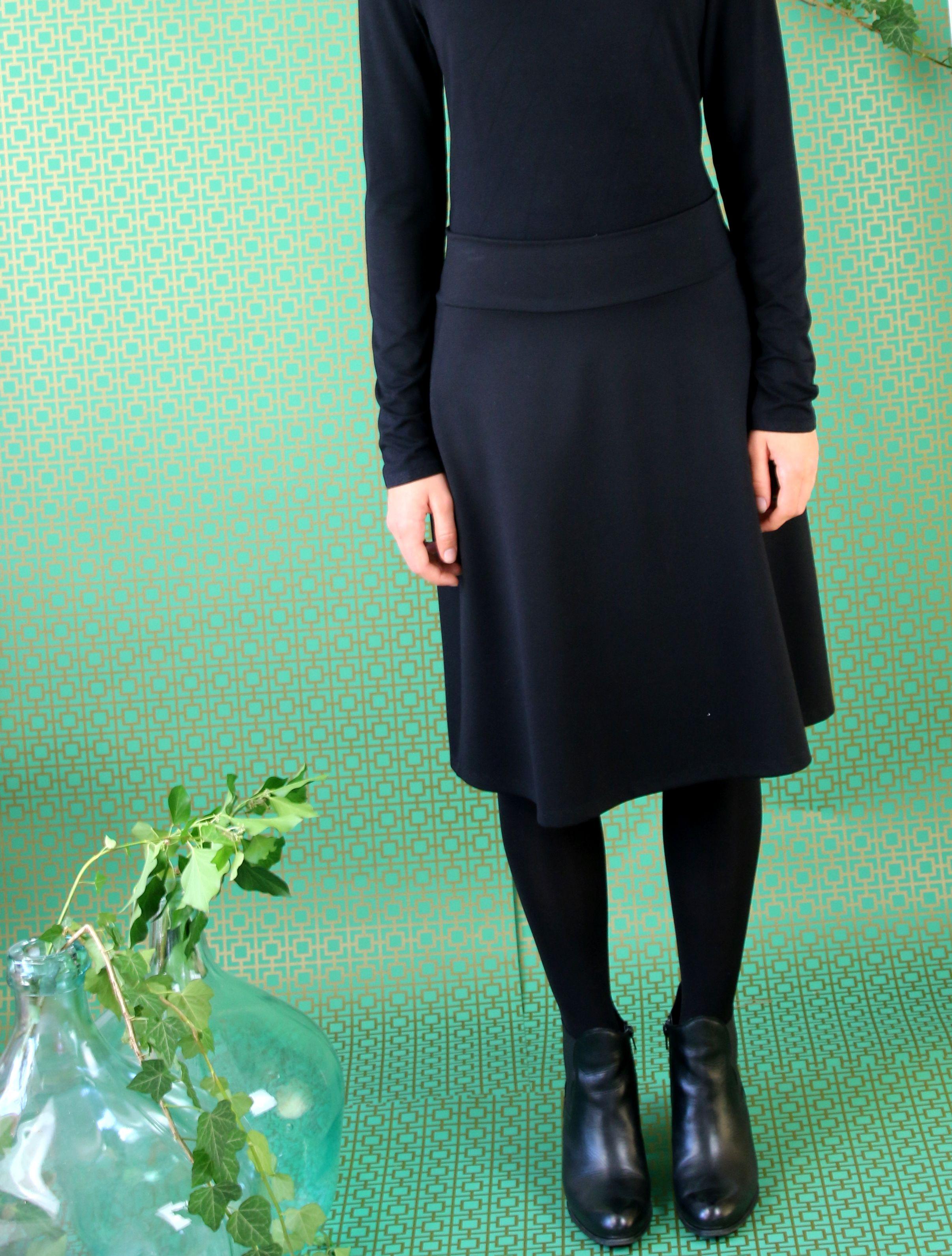 schwarze edle kleiderkombination | kleider kombinationen