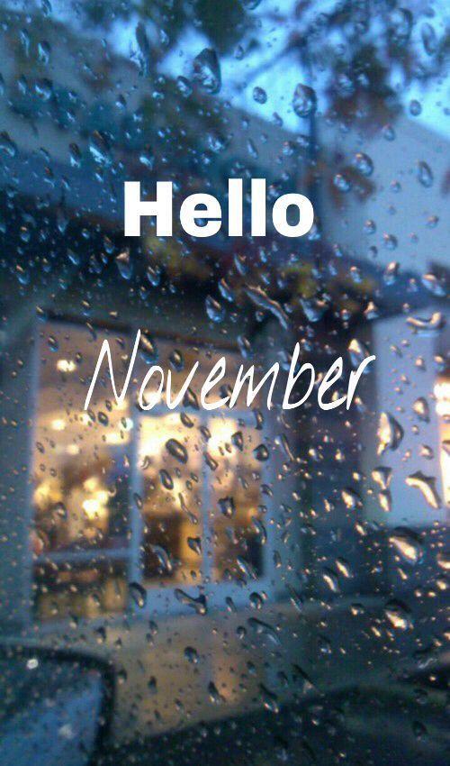 Hello November quotes Hello november, November pictures