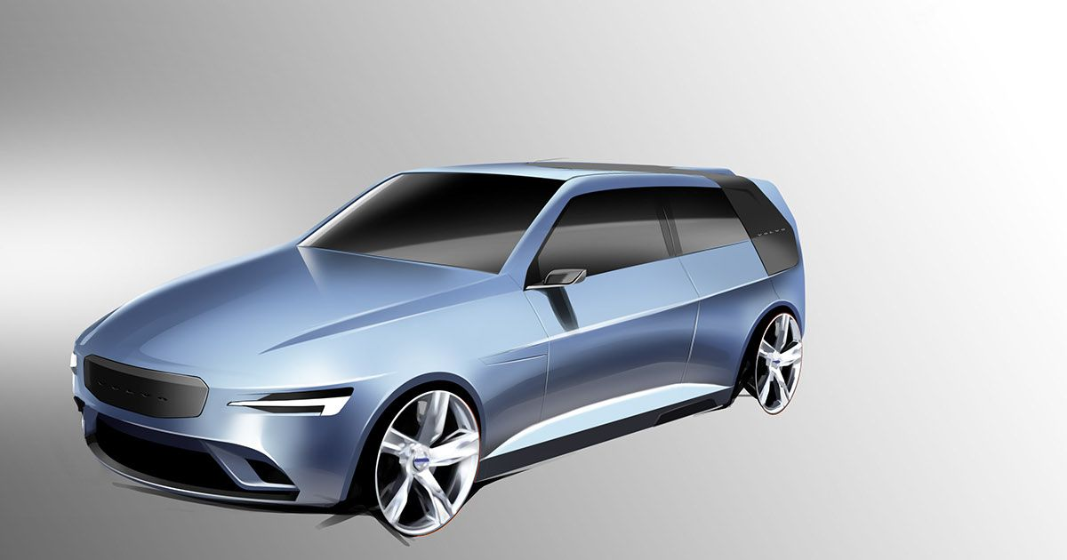 A shooting brake for Volvo, designed with innovation in mind and the true needs of the user at heart.