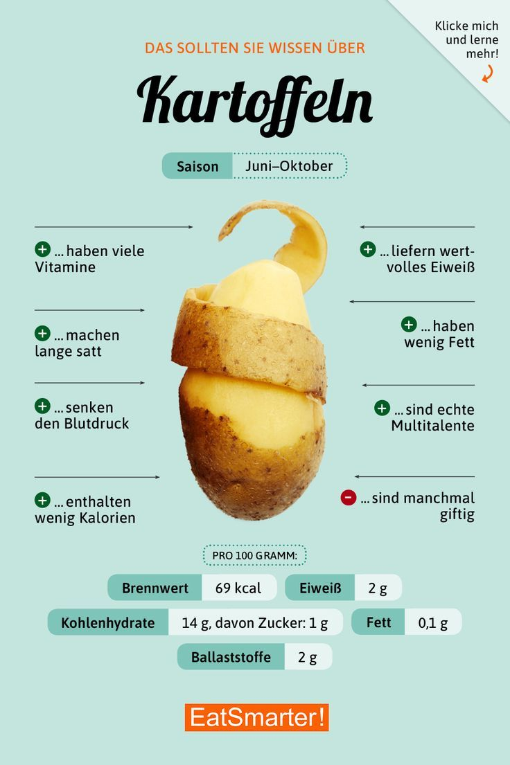 Kartoffeln Kartoffeln Nutrition nutrition in potatoes