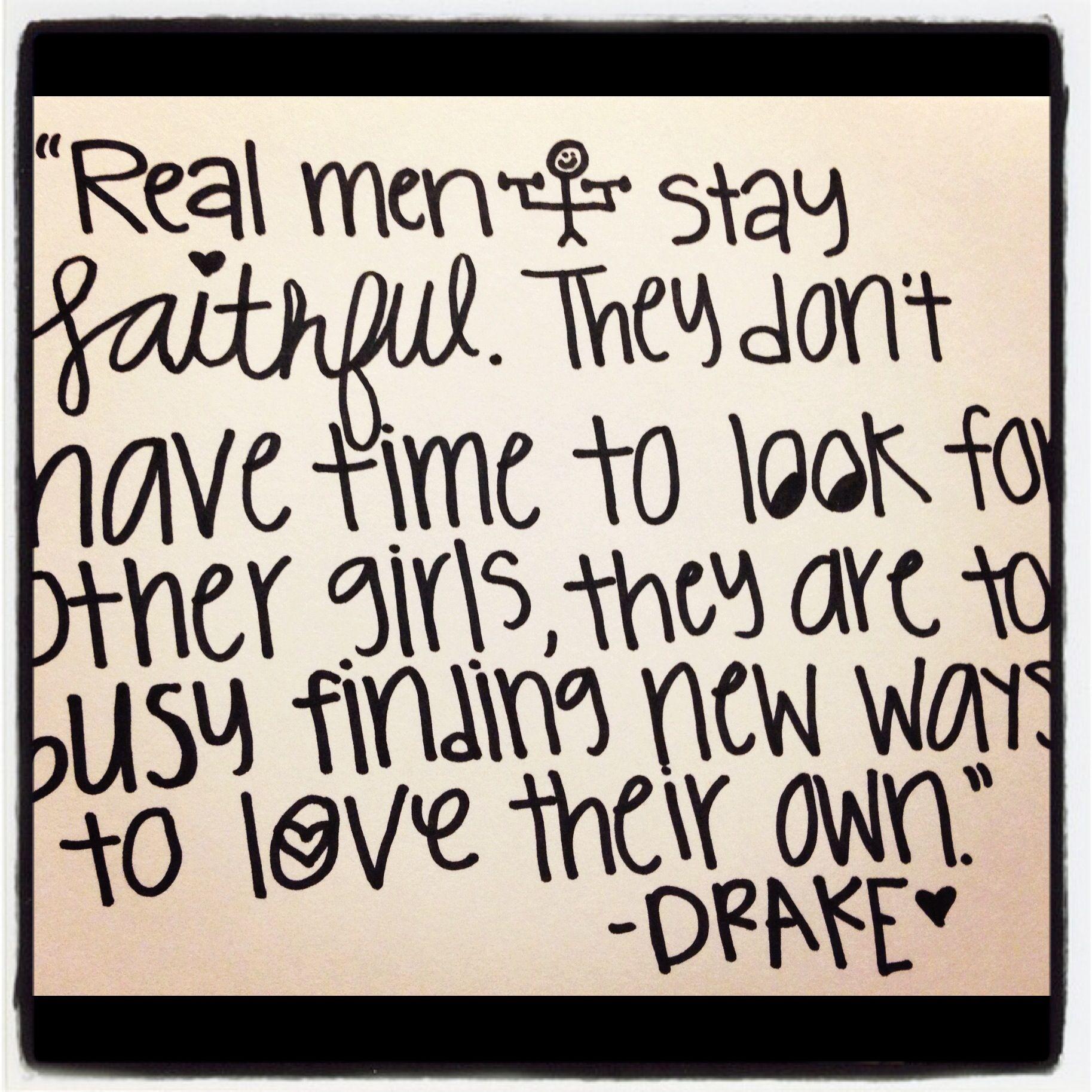 real men<3