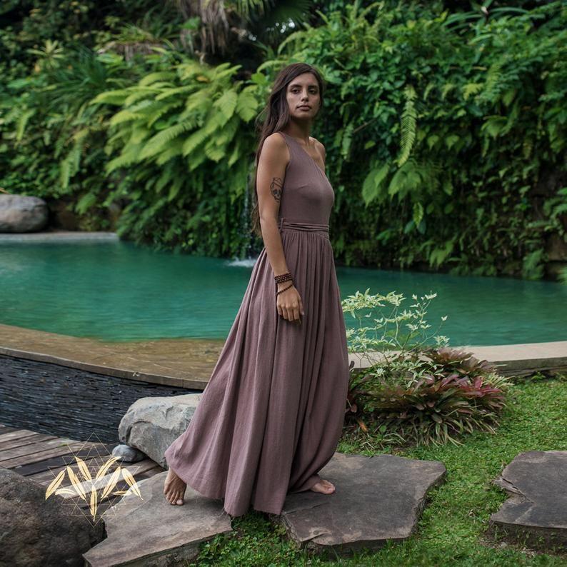 Organic Cotton dress for women Casual dress Goddess dress
