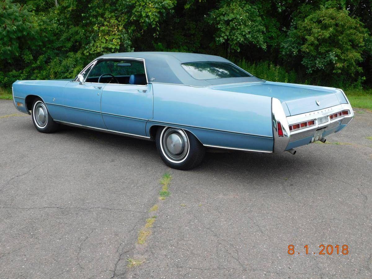 1970 Chrysler Imperial Lebaron 4 Door Hardtop Bahamablue