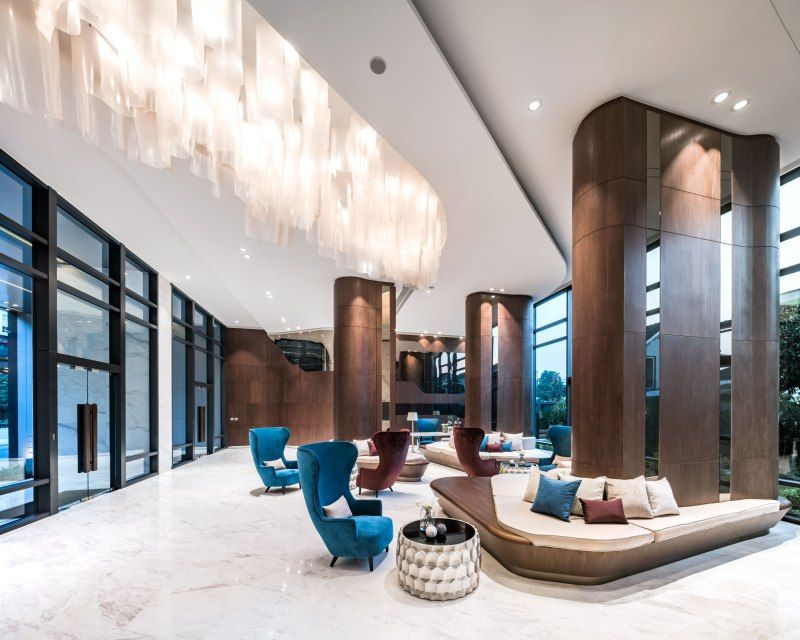 The Line Wongsawang By Sansiri Hotels Design Lobby Interior Healthcare Design