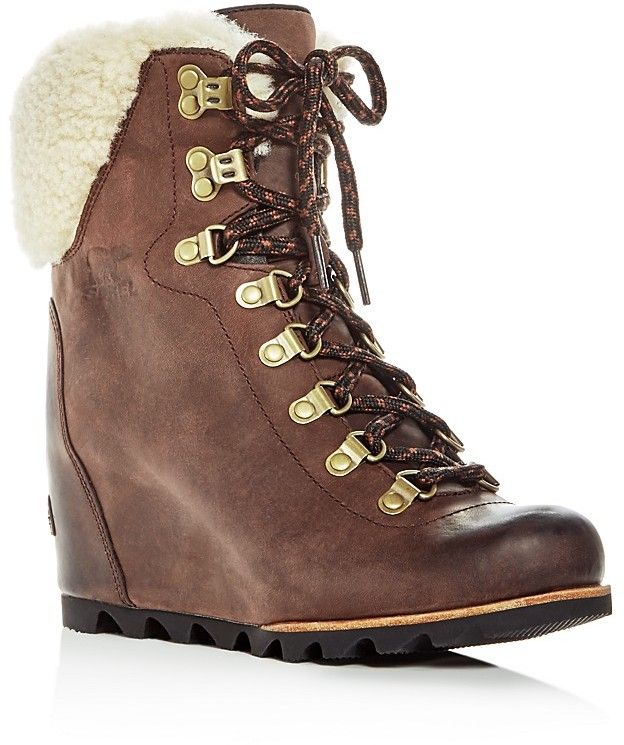 Sorel Women S Conquest On Sale 30 Off Wedgeboot