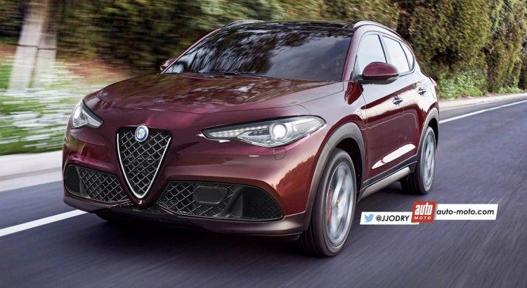 alfa romeo new car releasesScoop  Alfa Romeo Stelvio 2017  Alfa biscione son SUV