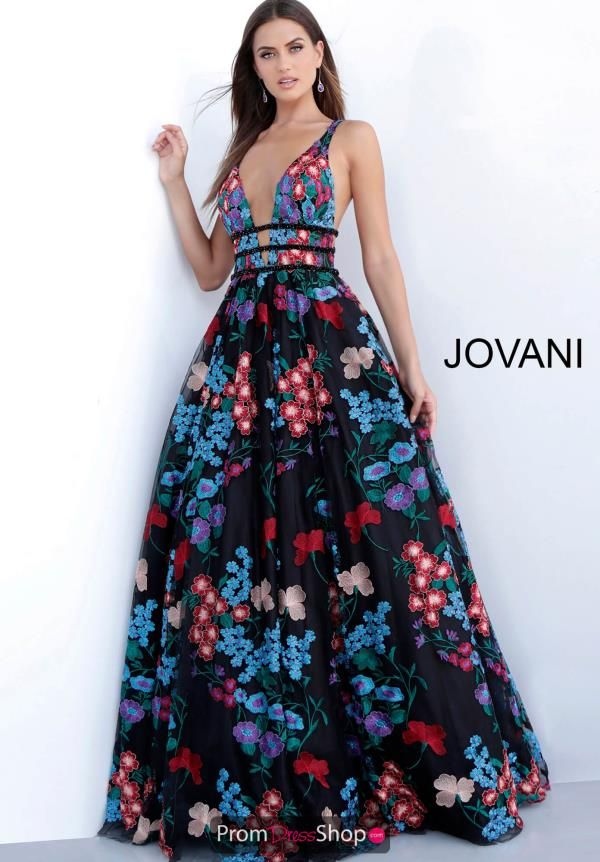 7db552364050 Jovani A Line Embroided Dress 66593 nel 2019