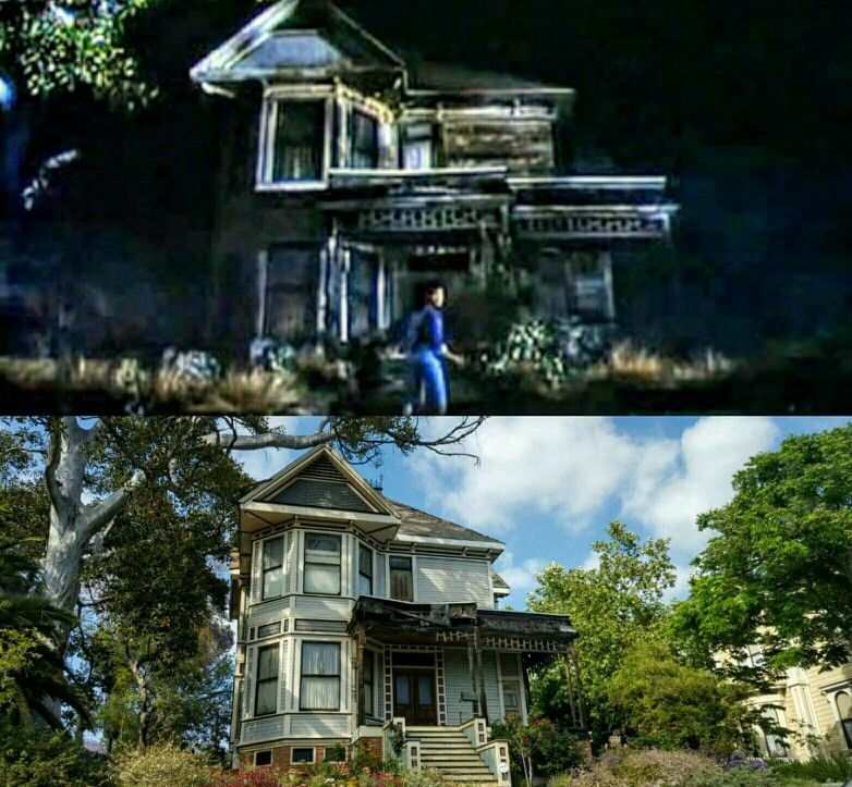 The Michael Jackson 'Thriller' House Then And Now. It's