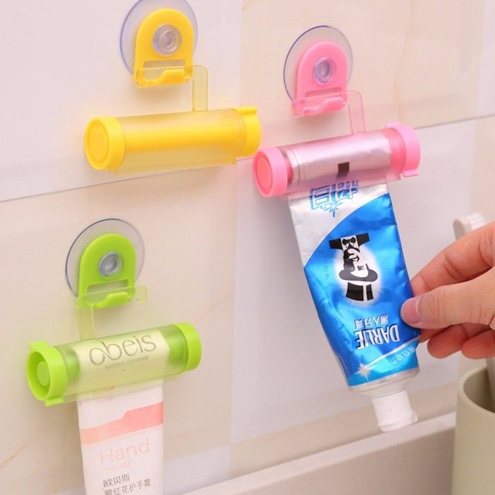 >> Click to Buy << 2PCS/Lot New Easy Squeezer Toothpaste Roller Tube Rack Dispenser Rolling Holder Easy Squeeze Paste Dispenser Roll Holder Hanging #Affiliate