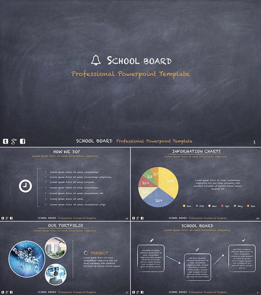 15 Template Powerpoint Pendidikan Untuk Presentasi Terbaik Di Sekolah Powerpoint Design Templates Powerpoint Powerpoint Templates