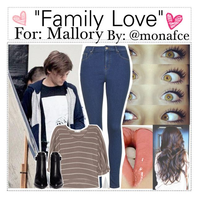 """❈Requested Imagine/'Family Love'❈"" by monafce ❤ liked on Polyvore"