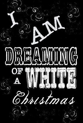 Christmas Print/Card Chalkboard Christmas Decor #christmas #chalk