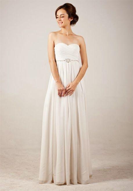d78d83df081 Elegant sweetheart empire wedding dress inspiration