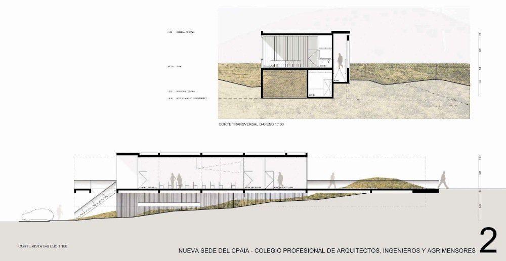 Galería de Primer Lugar en el Concurso de Anteproyectos Edificio C.P.A.I.A. sede Calafate - 11