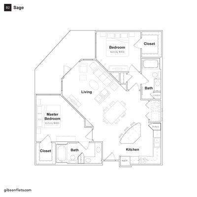 Gibson Flats Yelp Empty Nester House Plans Floor Plans Large Floor Plans
