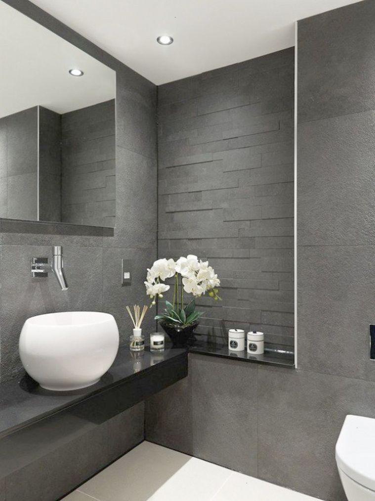 Astounding Luxury Bathrooms Suites Uk Follow Grey Bathroom Interior Modern Bathroom Design Grey Modern Bathroom Design