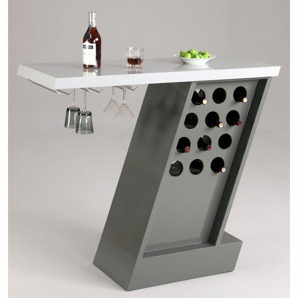 home bar furniture modern. Chintaly - Greenwich Modern Home Bar GREENWICH-BAR Furniture Pinterest