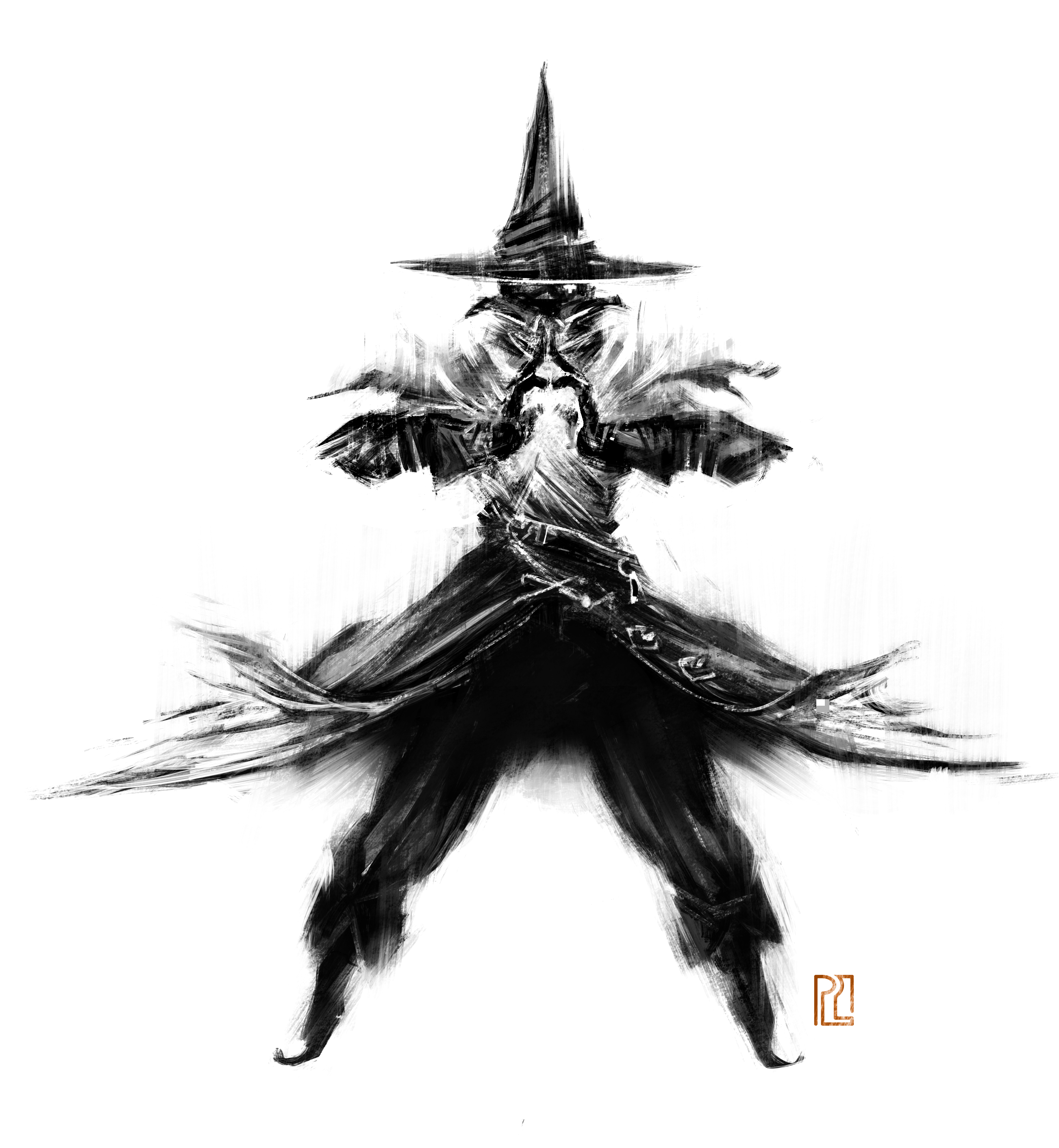 Commissioned fanart of a Black Mage, from Final Fantasy ...