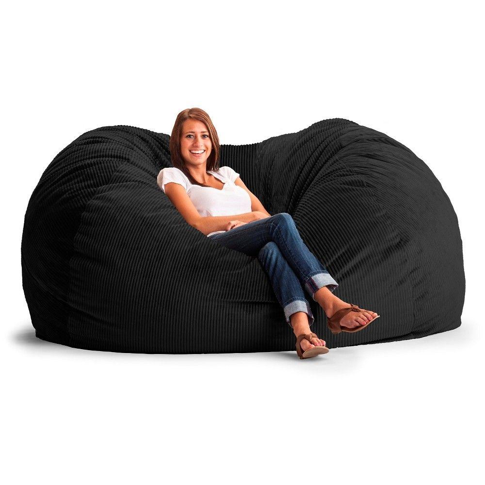 Xxl Fuf Corduroy Bean Bag Black Products Bean Bag Sofa Corduroy Bean Bag Bean Bag Chair