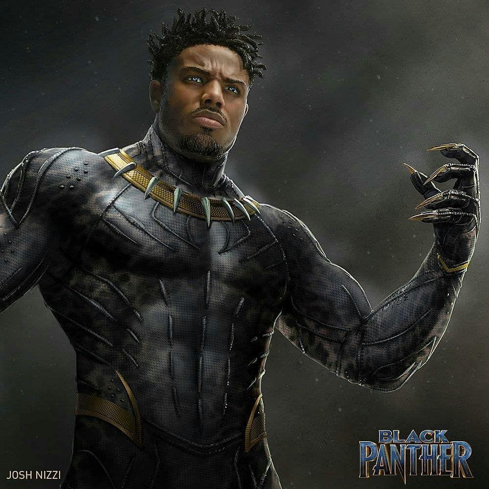 Mcu Killmonger Art Black Panther Marvel Black Panther
