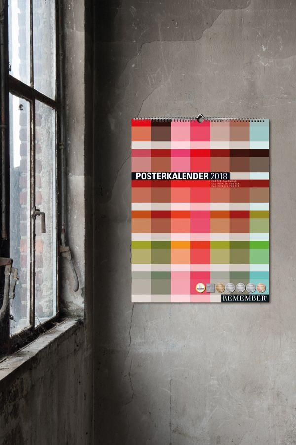 kalender #2018 #graphicdesign #design #office #geschenk ...