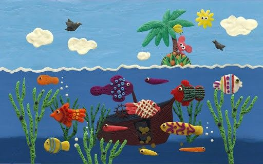 Plasticine ocean v1.0.21 apk Requirements 2.3.3 and up