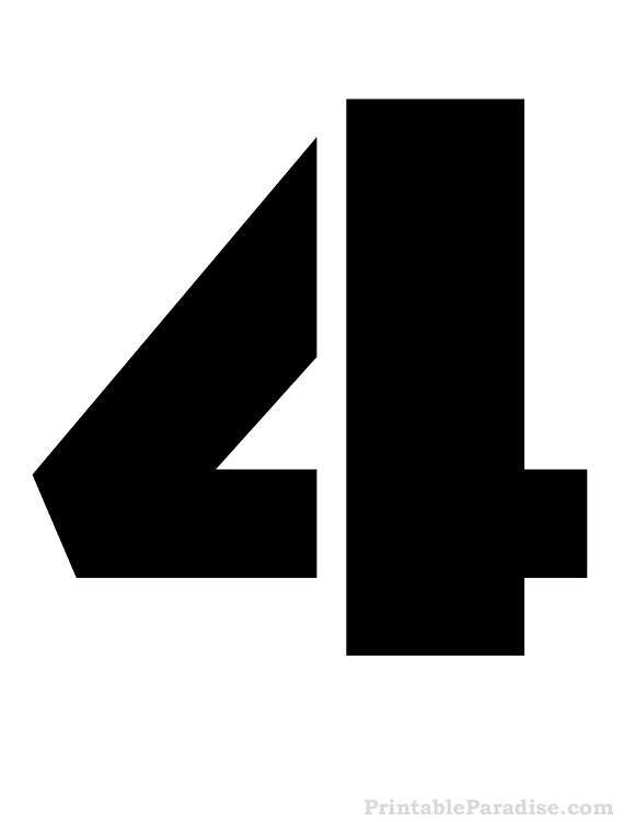 animal number 4 - /education/animal_numbers/animal_number_4.png.html