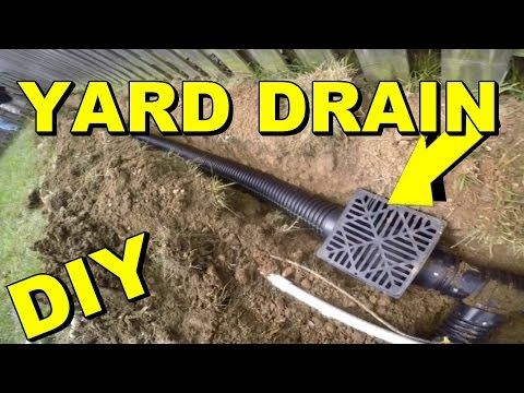 How to install perforated pipe french drain for do it yourself job how to install perforated pipe french drain for do it yourself job youtube solutioingenieria Images