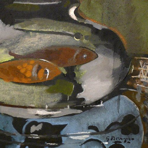 Georges Braque - L'aquarium