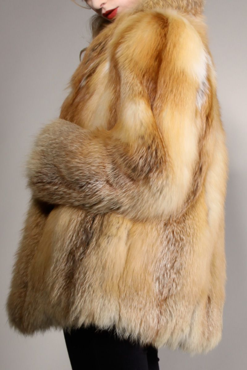Old Mink Coats for Sale | Shop Vintage | 70s Posh Fox Fur Coat ...