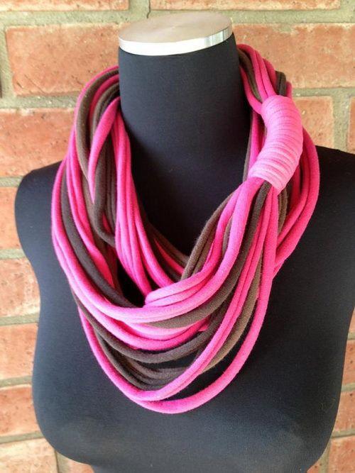 20 modelos de collares de trapillo sin tejer el blog de - Tejer con trapillo ...