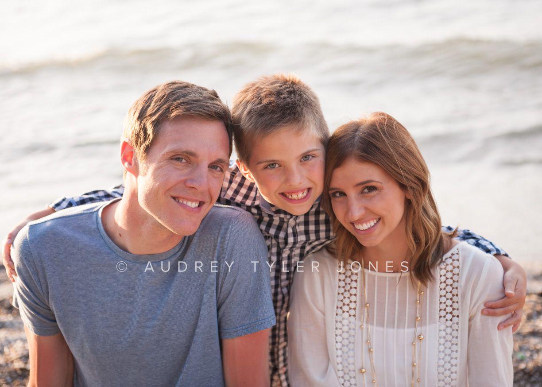 on the beach, lake erie Emily and Kyle's Engagement  Family Photos Cleveland, Ohio © audrey tyler jones