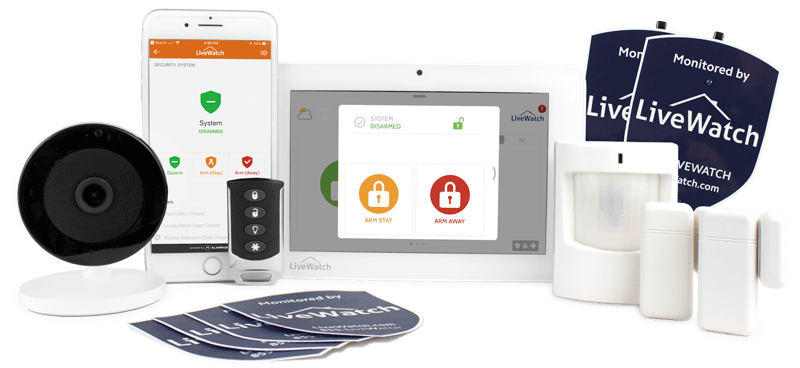 livewatch can supply homeowners with a personalized cutting edge wireless security camera system