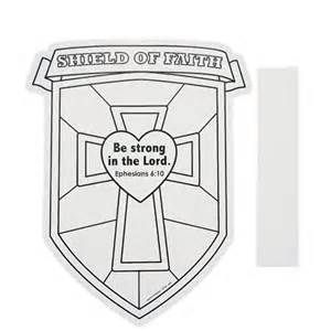 Shield Of Faith Coloring Page Bing Images Shield Of Faith