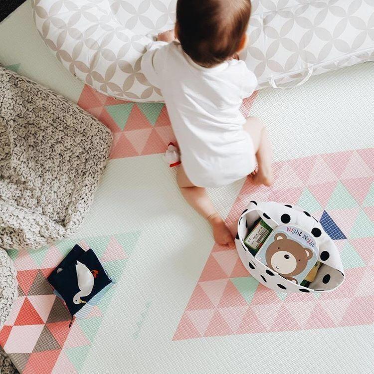 Little Bot Baby Play Mat Prismatic And Little Car Chic And Fun Little Bot Inc Baby Play Mat Play Mat Kids Rugs