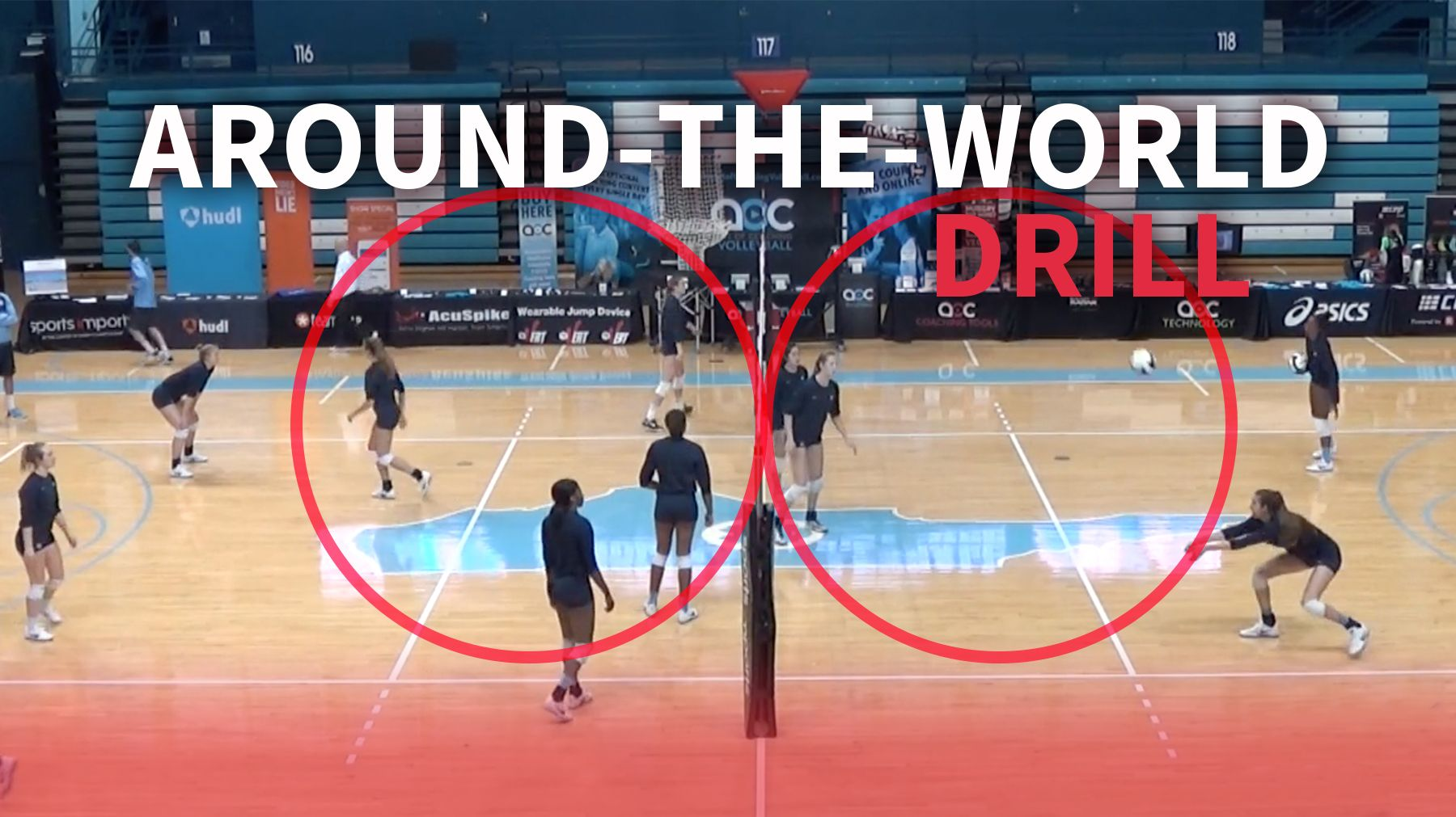 Around The World Drill To Warm Up Players In Every Discipline The Art Of Coaching Volleyball Coaching Volleyball Volleyball Skills Volleyball Training