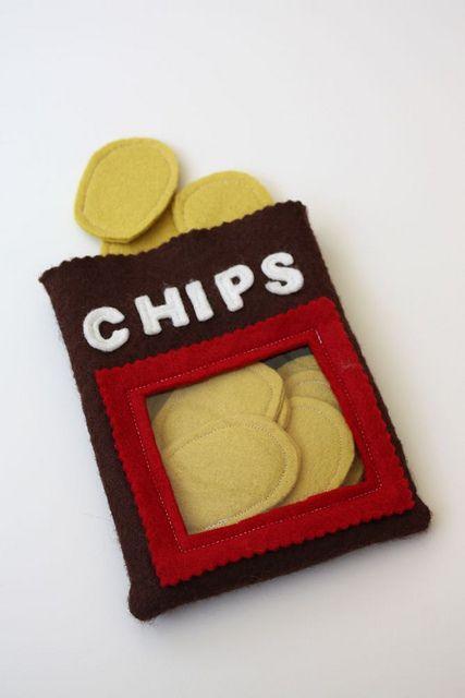 Photo of felt chips