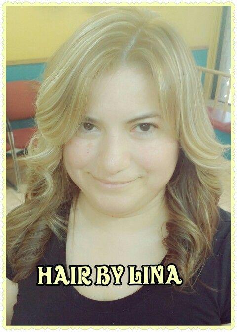 Platinum Highlights On Latina Hair Hairbylina Hair By Lina