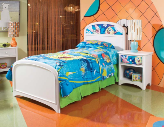 21 Decked Out Kids Rooms (Cartoon/Movie Themed) OddMods