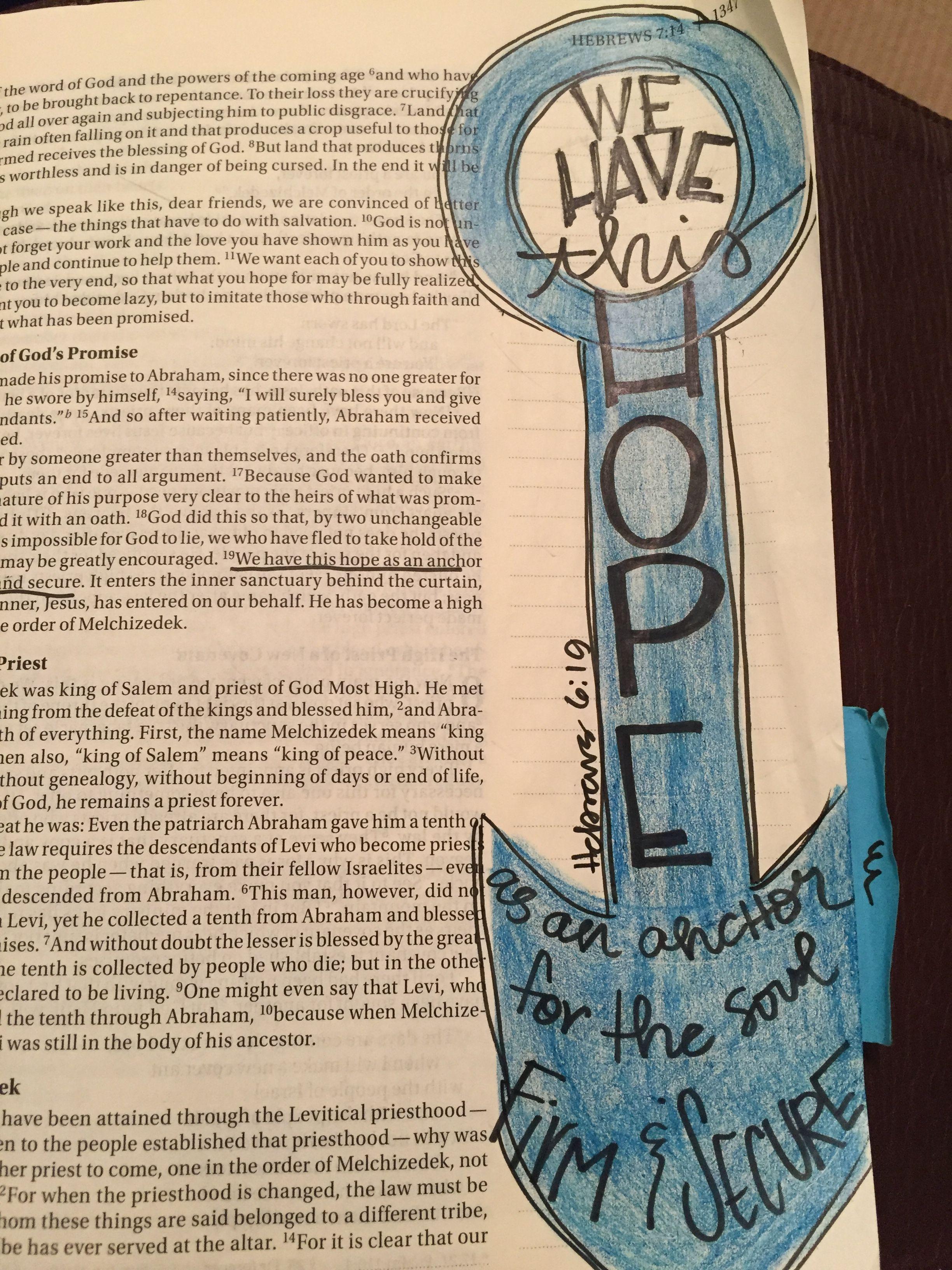 Pin On Bible Journal Hebrews