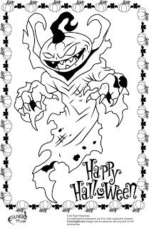 Scary Halloween Pumpkin Coloring Pages Monster Coloring Pages Pumpkin Coloring Pages Halloween Coloring Pages