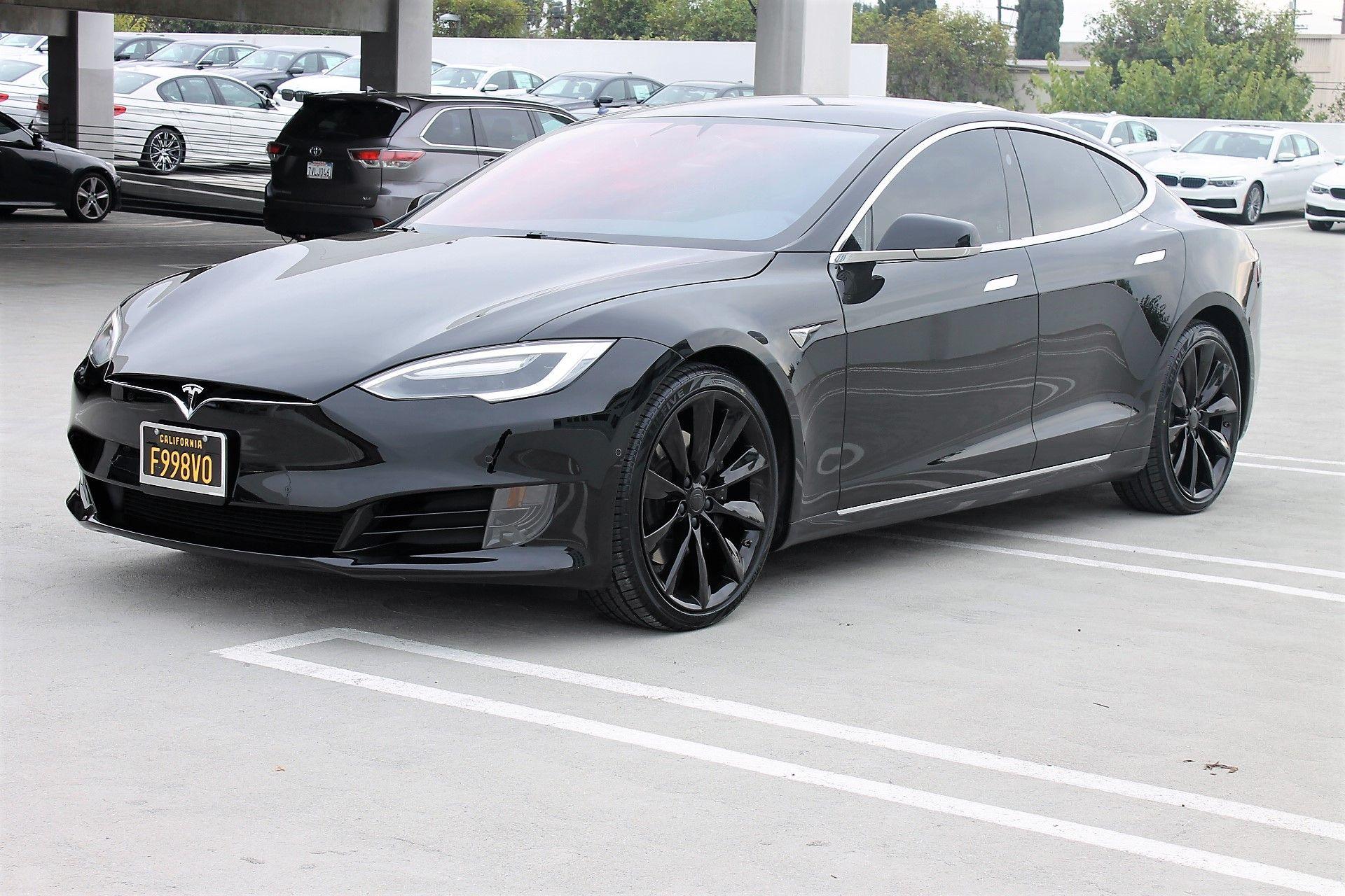 2016 Used Tesla Model S 75 Costa Mesa California Active 2 0 Autopilot W Autosteer Eligible For Red Ca Hov Carpool Decal Tesla Model S Black Wheels Model