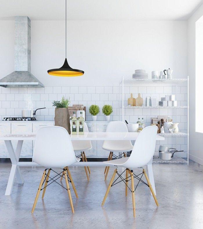 Skandinavisches Design im Esszimmer - 50 inspirierende Ideen für - esszimmer modern gemutlich