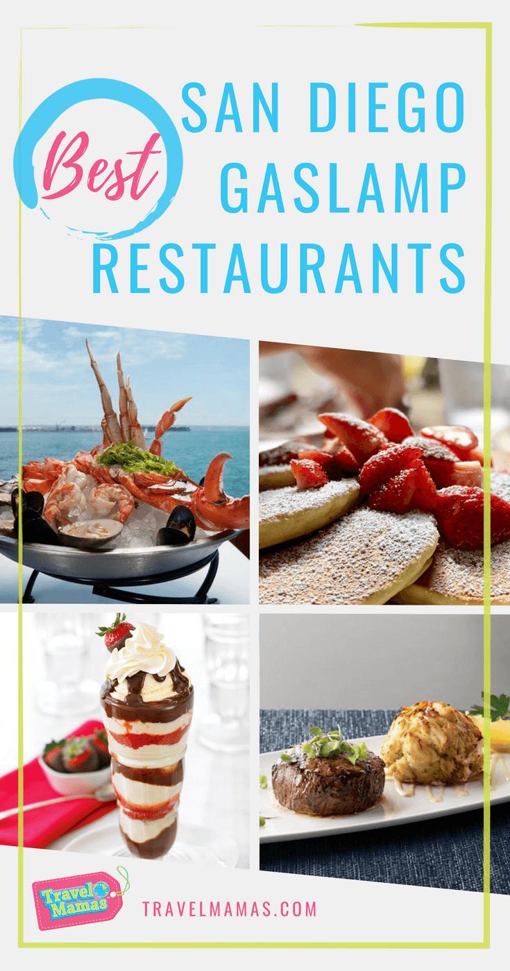 Best San Go Gaslamp Restaurants Foo California Travel