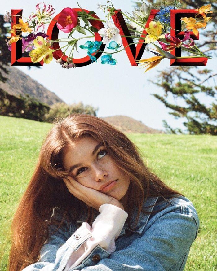 e1115c8134 Kendall Jenner Photographs Kaia Gerber for LOVE Magazine