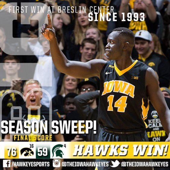 "1/14/16 Iowa Basketball on Twitter: ""https://t.co/84IlE67U9e"""