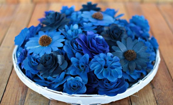 Hey, I found this really awesome Etsy listing at https://www.etsy.com/listing/385038544/wooden-flowers-100-pcs-blue-for-weddings